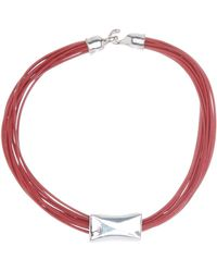 Simon Sebbag - Sterling Silver & Leather Strand Necklace - Lyst