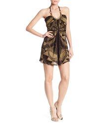 Sky - Roassana Curb Chain Dress - Lyst