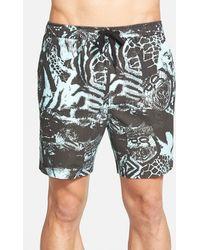 Insight - 'get Free' Beach Shorts - Lyst
