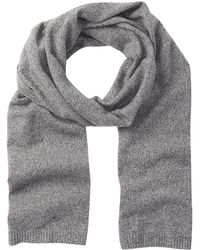 Theory - Donners Cashmere Marled Knit Scarf - Lyst
