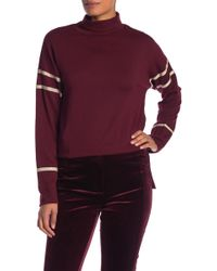 Laundry by Shelli Segal - Cozy Knit Turtle Neck Sweater - Lyst