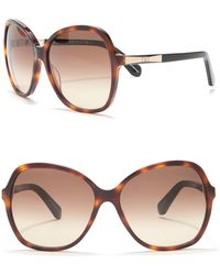 Kate Spade - Jolyn 58mm Oversized Sunglasses - Lyst