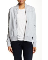 Alternative Apparel - French Terry Quilted Bomber Jacket - Lyst