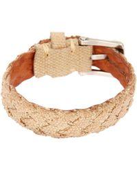 John Varvatos | Braided Fabric Cuff Bracelet | Lyst