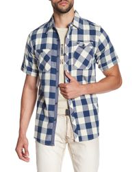 Xray Jeans - Check Short Sleeve Slim Fit Shirt - Lyst
