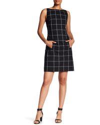 Jones New York - Windowpane Suiting Dress - Lyst