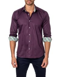 Unsimply Stitched - Long Sleeve Trim Fit Shirt - Lyst
