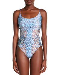 Eco Peace by Aqua Green - Reversible One-piece - Lyst