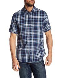 Jeremiah - Carr Reversible Plaid Shirt - Lyst