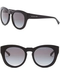 Michael Kors - Women's Summer Breeze 50mm Rounded Sunglasses - Lyst