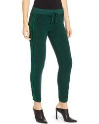 Pam & Gela - Velvet Stripe Sweatpants - Lyst