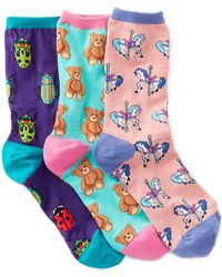 Socksmith - Animal Socks - Pack Of 3 - Lyst