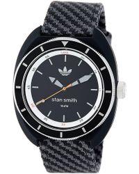 best loved 43e56 df136 adidas Originals - Men s Stan Smith Textile Strap Watch - Lyst