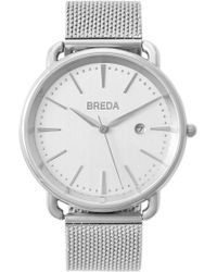 Breda - Men's Linx Mesh Strap Watch, 42mm - Lyst