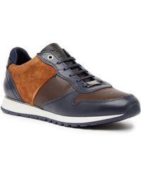 Ted Baker - Shindlm Leather Trainer - Lyst