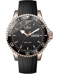 EDOX Watches - Men's Chronorally-s Swiss Quartz Sport Watch, 44mm - Lyst