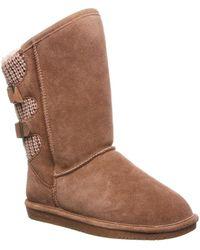 BEARPAW - Rue Genuine Sheepskin Lined Boot - Wide Width (women) - Lyst