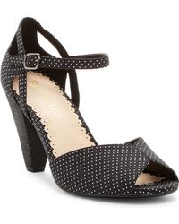Restricted - Dancing Dots Cone Heel Sandal - Lyst