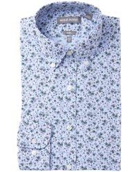 Michael Bastian - Printed Trim Fit Dress Shirt - Lyst