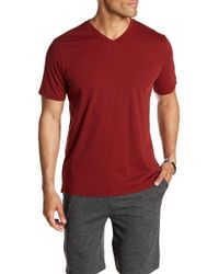 Threads For Thought - Basic V-neck Tee - Lyst