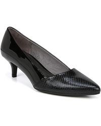 LifeStride - Marcy Snake Embossed Pump - Wide Width Available - Lyst