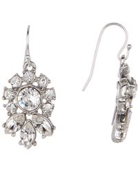 Ben-Amun - Crystal Cluster Earrings - Lyst