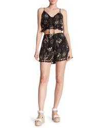Dress Forum - Tasseled High-rise Short - Lyst