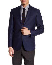 Ted Baker - Jarrow Notch Collar Front Button Wool Sport Coat - Lyst