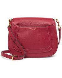 f9740b36dba5 Marc Jacobs - Empire City Messenger Leather Crossbody Bag - Lyst
