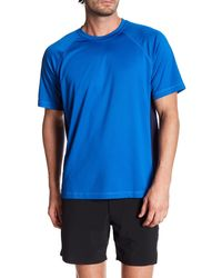 Lands' End - Regular Fit Active Performance T-shirt - Lyst