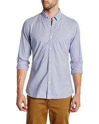 Lands' End - Stripe Poplin Shirt - Lyst