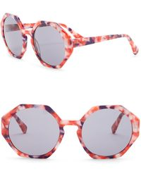 Joe's Jeans - Women's Geo 56mm Sunglasses - Lyst