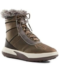 Lands' End - Chill Action Faux Fur Waterproof Boot - Lyst
