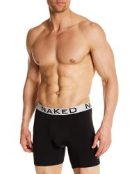 Naked - Silver Boxer Brief - Lyst