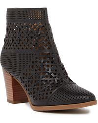 Franco Sarto - Damsel Leather Ankle Boot - Lyst