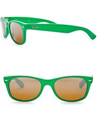 74a6f02861f Lyst - Ray-Ban 52mm Wayfarer Sunglasses in Brown for Men