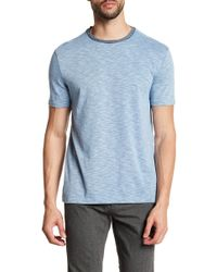Vince Camuto - Heathered Crew Neck Tee - Lyst