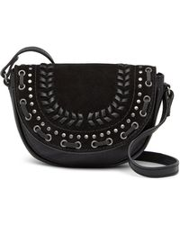 Lucky Brand - Kady Small Leather & Suede Crossbody Bag - Lyst