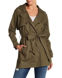 Lucky Brand - Trench Coat - Lyst