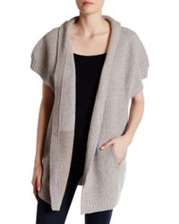 INHABIT - Chunky Cashmere Coat - Lyst