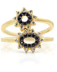 Freida Rothman - Starburst Rings - Set Of 2 - Lyst