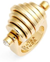 Trina Turk - Moveable Disc Ring - Size 7 - Lyst