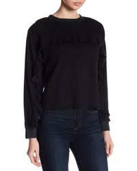 Two By Vince Camuto - Long Sleeve Ruffle Pullover - Lyst