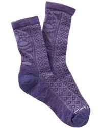 Smartwool | Lilypond Pointelle Crew Socks | Lyst