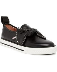 RED Valentino - Studded Knot Slip-on Sneaker - Lyst