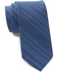 Tommy Hilfiger - Indigo Stripe Tie - Lyst