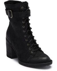 Born - Cass Block Heel Boot - Lyst