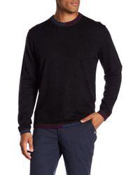 Robert Graham - Cooperstown Long Sleeve Crew Neck Wool Jumper - Lyst