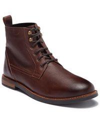 Ben Sherman - Brent Plain Toe Leather Boot - Lyst