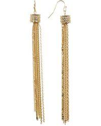 Jessica Simpson - Tassel Earrings - Lyst
